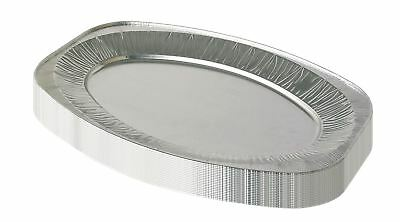 Vinsani Disposable Catering  Serving Party Foil Aluminium Platters 14