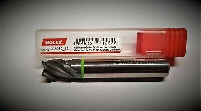 Holex Vhm Cutter Hpc D 0 1532in Z4 203052 12 Shaft Cutters