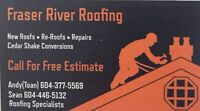 Roofing Service - Call Today For A Free Estimates