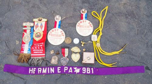 Vintage Loyal Order Of The Moose & FOE LOT 1920