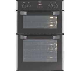 Belling Integrated Electric Double Oven Bi90EFR Stainless Steel Brand New in Packaging