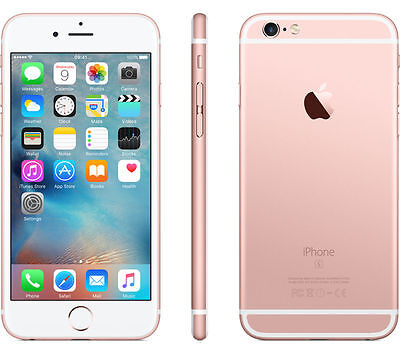 """Apple iPhone 6S 4.7"""" 16GB Rose Gold GSM 4G LTE (T-Mobile) Smartphone - SRB"""
