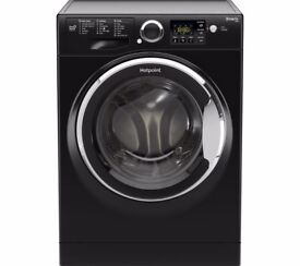 hotpoint 9k machine in black 1600 spin, AAA rated.