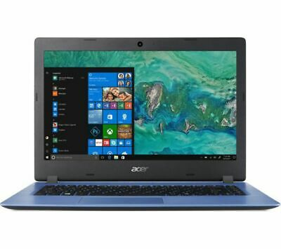 ACER Aspire 1 A114-32 14in Blue Laptop - Intel Celeron N4000 4GB RAM 64GB eMMC -