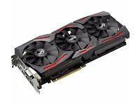 ASUS ROG Strix GeForce GTX 1070 8 GB GDDR5 (New Sealed In Box with full Warranty & Recipts )