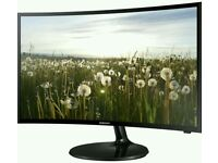 """SAMSUNG 32"""" CURVED LED TV AND MONITOR BUILT IN HD"""