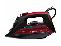 BOSCH Sensixx TDA5070GB Steam Iron - Black & Red- Refurbished