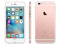 *Factory Unlocked - Good* 64GB iPhone 6S Rose Gold LTE/4G Retina Latest iOS 11.2