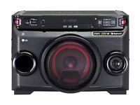 LG LOUDR OM4560 Wireless Megasound Hi-Fi System - Black / NEW