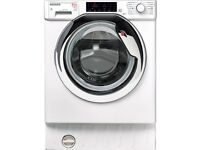 HOOVER HBWD 8514TAHC Integrated 8 kg Washer Dryer - White - COLLECT OR DELIVERY