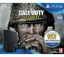 SONY PLAYSTAION 4 WITH CALL OF DUTY BRAND NEW