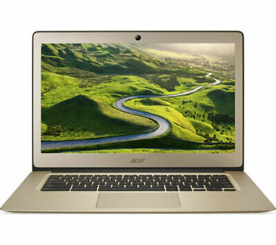 GradeB - ACER CB3-431 14in Gold Chromebook - Intel Celeron© N3060 2GB RAM 16GB e