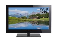 Sandstrom 24 Inch LED FULL 1080P HD TV - Freeview – USB Slot - Remote. NO OFFERS