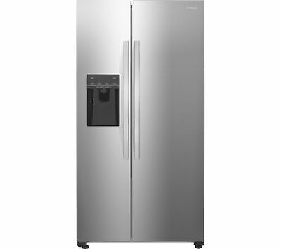 NEW KENWOOD KSBSDIX16 American Style Fridge Freezer Stainless Steel Energy A+