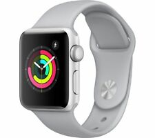 APPLE Watch Series 3 - Silver, 38 mm