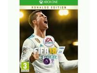 FIFA 18 RONALDO EDITION. xbox one