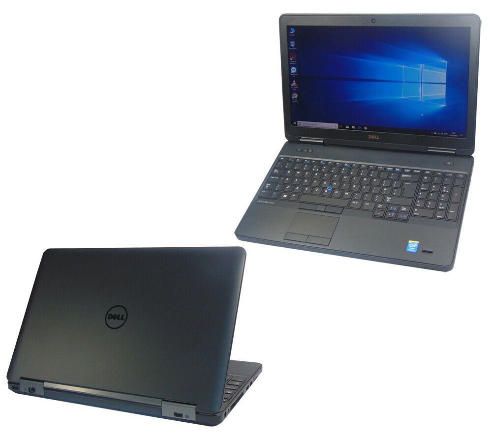 Laptop Windows - Dell Laptop Windows 10 Latitude E5540 Core i5-4210U 4GB 128GB SSD Webcam HDMI