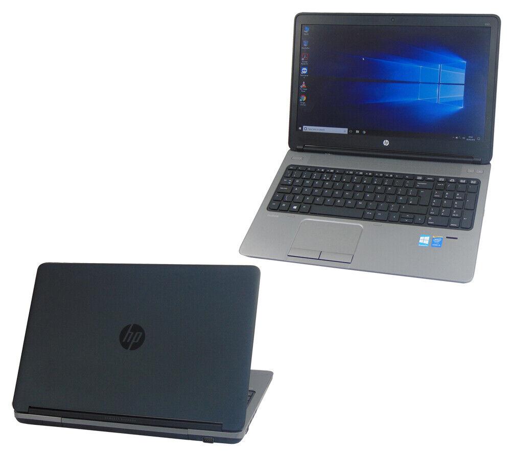Laptop Windows - HP Laptop Windows 10 ProBook 655 G1 AMD A10 Quad Core 8GB 500GB AMD Radeon