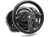 Thrustmaster T300RS (wheel/pedals) + PlaySeat Racing Chair