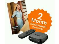 Nowtv box 2 month entertainment pass.