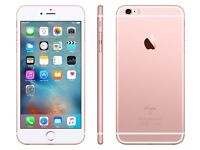 ****APPLE I PHONE 6S PLUS ROSE GOLD 16GB UNLOCKED TO ALL NETWORKS WITH APPLE WARRANTY****