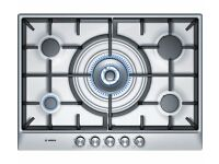 New Boxed BOSCH PCQ715B90E Gas Hob Brushed Steel Was: £339.99