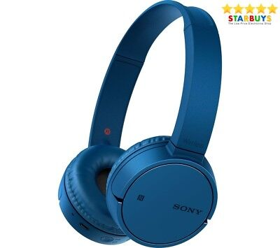 Sony WH-CH500 Wireless Bluetooth On-ear Headphones with NFC & Hands Free - Blue
