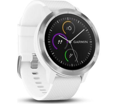 Garmin Vivoactive 3 GPS Watch, White | 010-01769-21 | AUTHORIZED GARMIN DEALER!