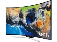 NEW SAMSUNG 55 CURVED UHD 4K HDR VOICE CONTROL SMART FREEVIEW HD