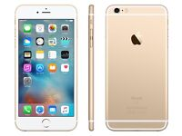 Unlocked Apple Gold iPhone 6S 64GB with Apple Silicone case