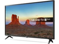 "LG 43"" inch UHD Smart LED TV 4K HDR in black (Brand New in Box, Free Delivery)"