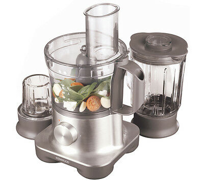 KENWOOD FPM260 Multipro Food Processor Silver 750 W 2.1 Litres Pulse function