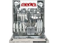 Kenwood Integrated / built in Dishwasher Ex Display with 6 month back to base warranty * KID60S17 *