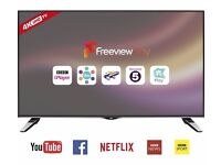 "JVC LT-55C860 Smart 4k Ultra HD 55"" LED TV Built in wifi HDMI Freeview"