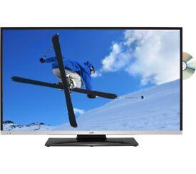 "40"" JVC SMART WIFI DVD LED TV CAN DELIVER"