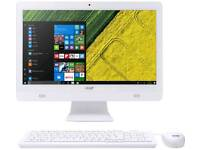 Acer Desktop PC integrated tower, Wi-Fi and webcam