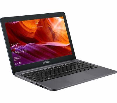 "Laptop Windows - ASUS E203 11.6"" Laptop Intel Celeron 64GB eMMC 4GB RAM Windows 10 S Grey Currys"