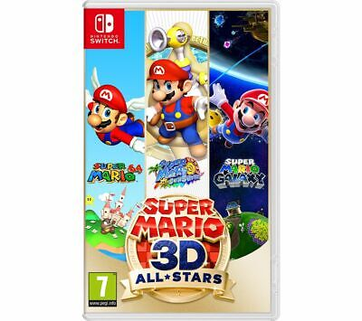 video games - NINTENDO SWITCH Super Mario 3D All-Stars Game 7+ Action-Adventure - Currys