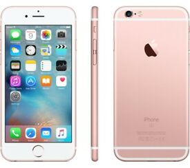 Christmas sales iPhone 6S Rose Gold 16GB on Vodafone
