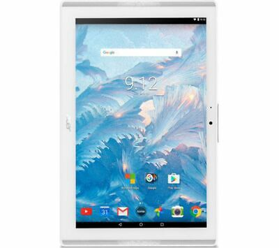 """Acer B3-A40 Iconia One 10"""" Tablet Marble White 2GB 16GB Quad Core WiFi"""