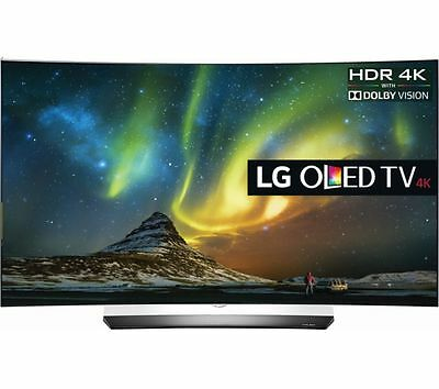 LG OLED65C6P Curved 65-Inch 4K Ultra HD Smart OLED TV BUNDLE!