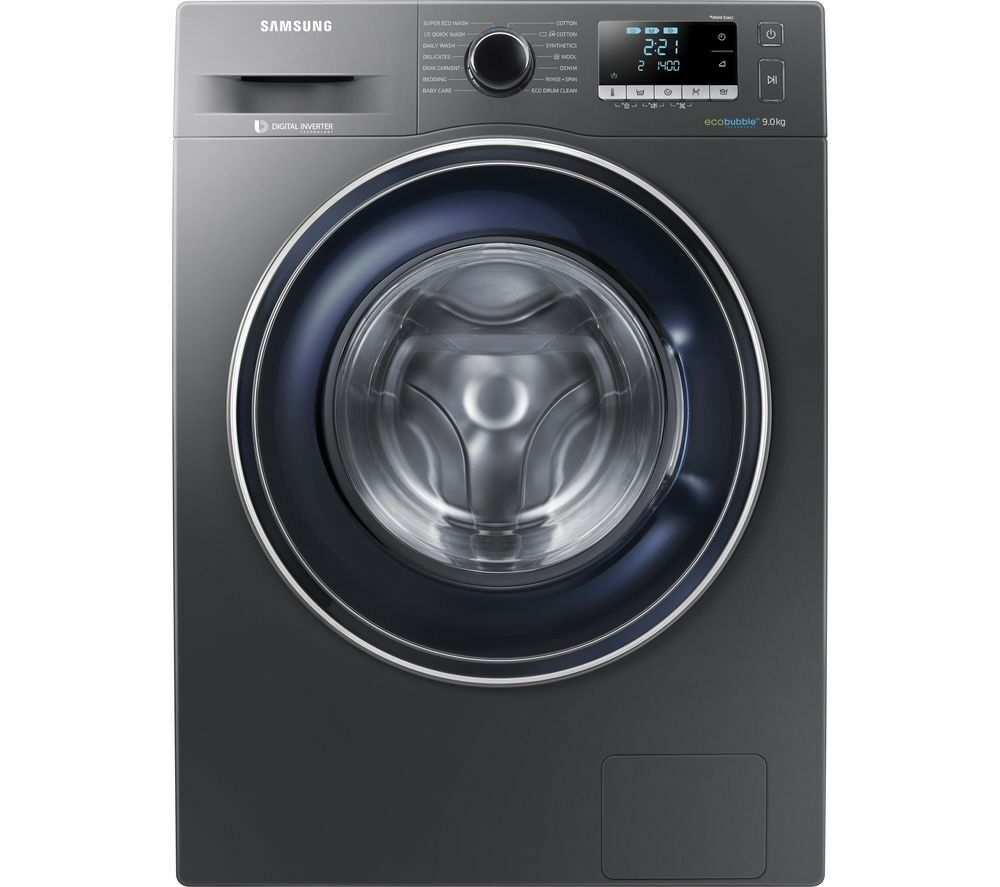 Washing Machine SAMSUNG ecobubble WW90J5456FX 9 kg 1400 Spin RRP £599