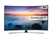 "NEW BOXED Samsung 65"" CURVE UHD 4K HDR Smart LED TV UE65KU6680 Voice Control Retails £1400!"