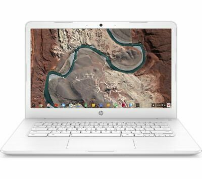 "HP 14-ca051sa 14"" Intel® Celeron™ Chromebook - 32 GB eMMC, White - REFURBISHED"