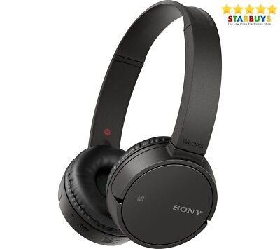 Sony MDR-ZX220BT Wireless Bluetooth On-ear Headphones NFC & Hands Free - Black