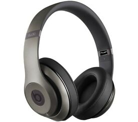 BEATS Studio 2.0 Wireless Bluetooth Noise-Cancelling Headphones - Titanium