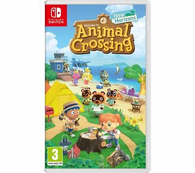 NINTENDO SWITCH Animal Crossing:New Horizons Game 3+ Online Multiplayer - Currys