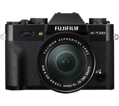 Fotocamera Digitale Fujifilm X-T20 + 16-50mm + Borsa + Treppiede (Kit UF)