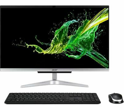 """ACER Aspire C24-960 23.8"""" Intel® Core™ i5 All-in-One PC - Silver DAMAGED BOX"""