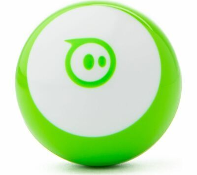 Sphero Mini Green - App Enabled Robotic Ball - Drive, Play Games, Learn to Code